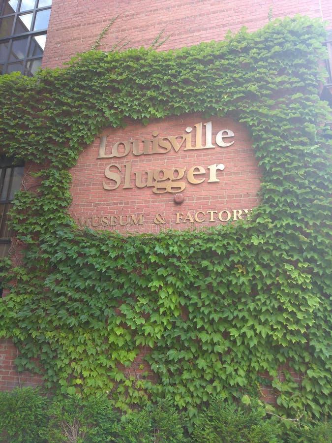 Slugger de Louisville imagem de stock