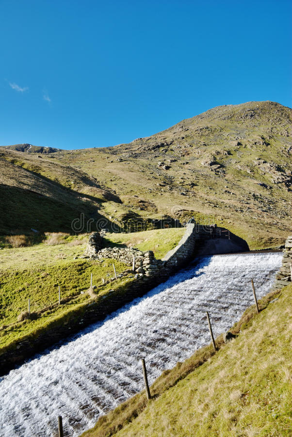 Sluice And Spillway royalty free stock image