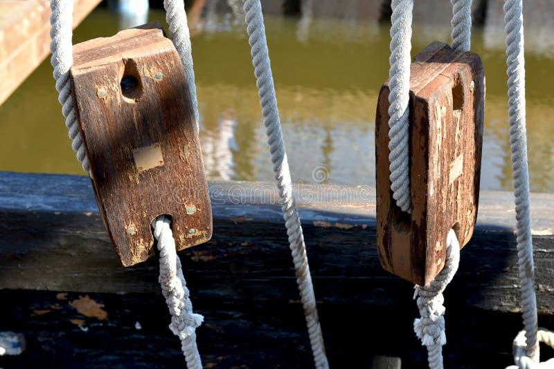 Sluierspanners, schipoptuigen royalty-vrije stock afbeelding