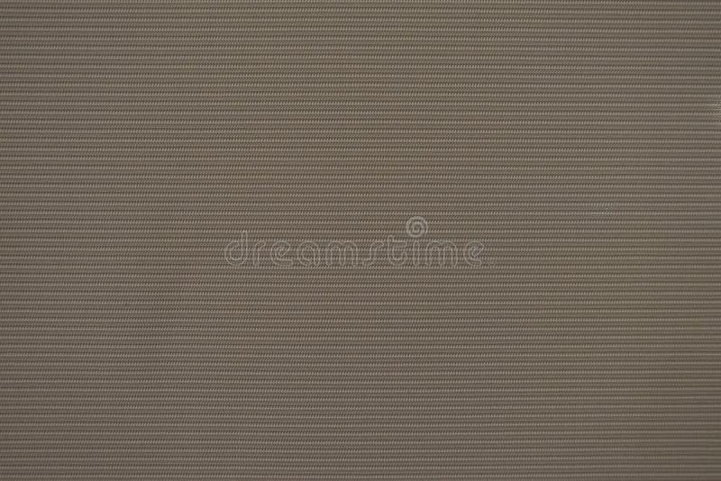 Sluit de doektextuur van het patroon omhoog bruine gordijn voor Achtergrond stock afbeelding