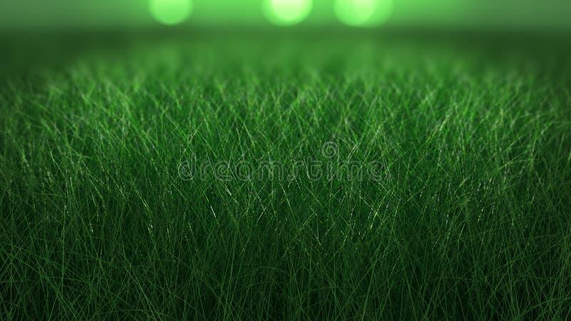 Sluit omhoog achtergrond van vers dik gras stock afbeelding