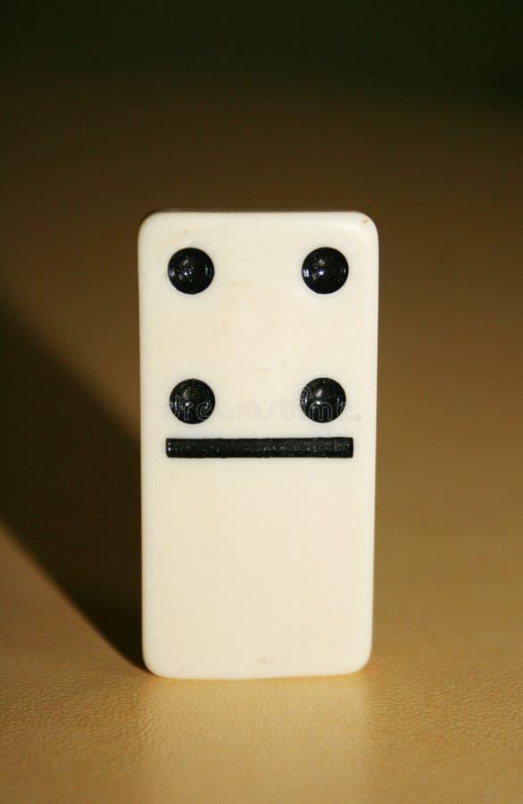 Sluit omhoog beeld van domino's, van de menigte stock afbeeldingen
