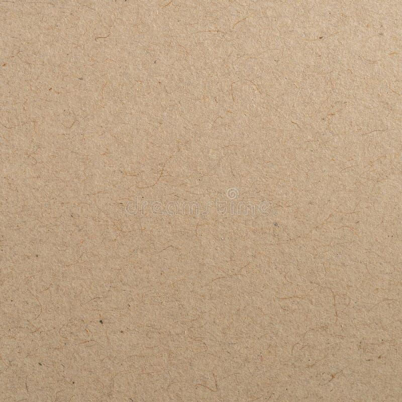 Sluit omhoog bruine kraftpapier-document textuur en achtergrond royalty-vrije stock afbeelding