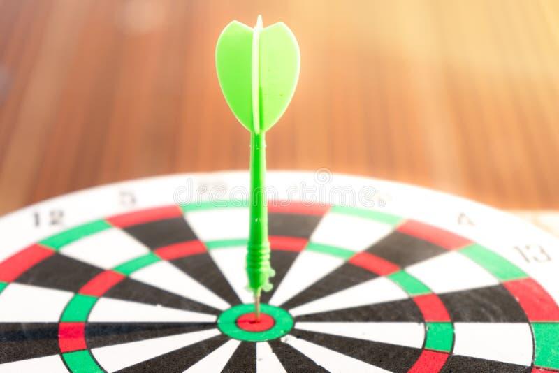 Sluit omhoog dartboard royalty-vrije stock foto's