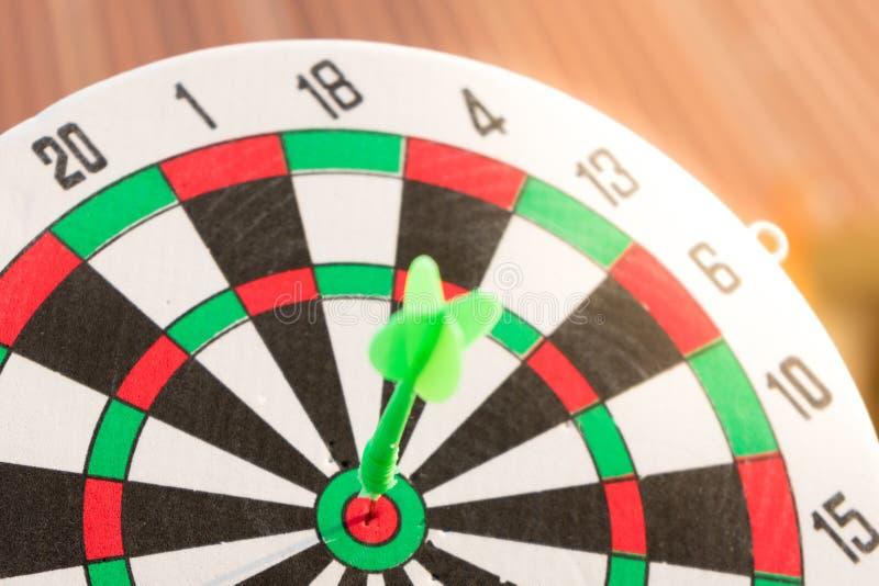 Sluit omhoog dartboard royalty-vrije stock foto