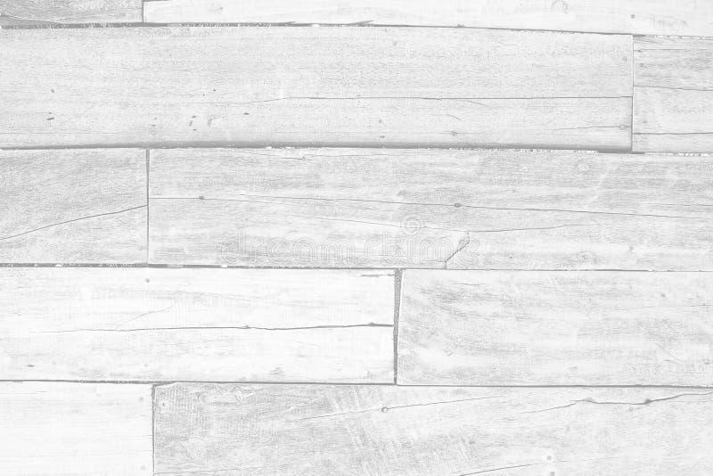 Sluit omhoog de witte houten achtergrond van de patroontextuur voor ontwerpdecoratie royalty-vrije stock afbeelding