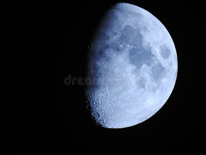 Sluit omhoog fotografie van de maan royalty-vrije stock foto