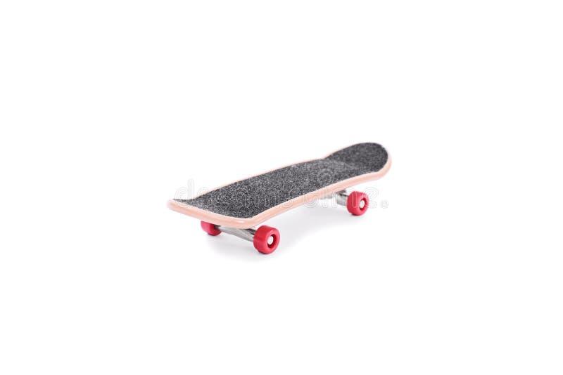 Sluit omhoog geschoten van een skateboard royalty-vrije stock afbeeldingen