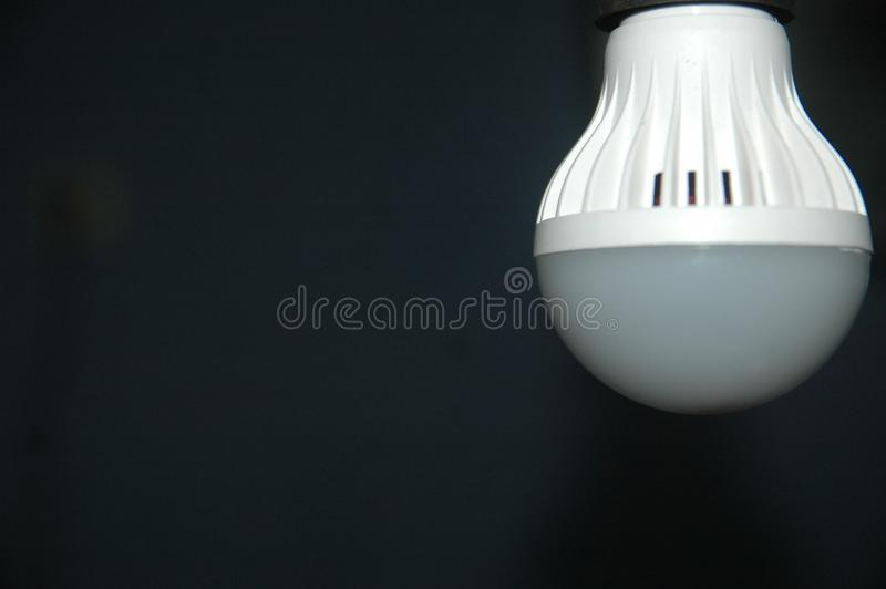 Sluit omhoog het onduidelijke beeldachtergrond van de detaillamp royalty-vrije stock foto