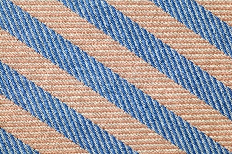 Sluit omhoog het patroon van de strepenstof stock afbeelding