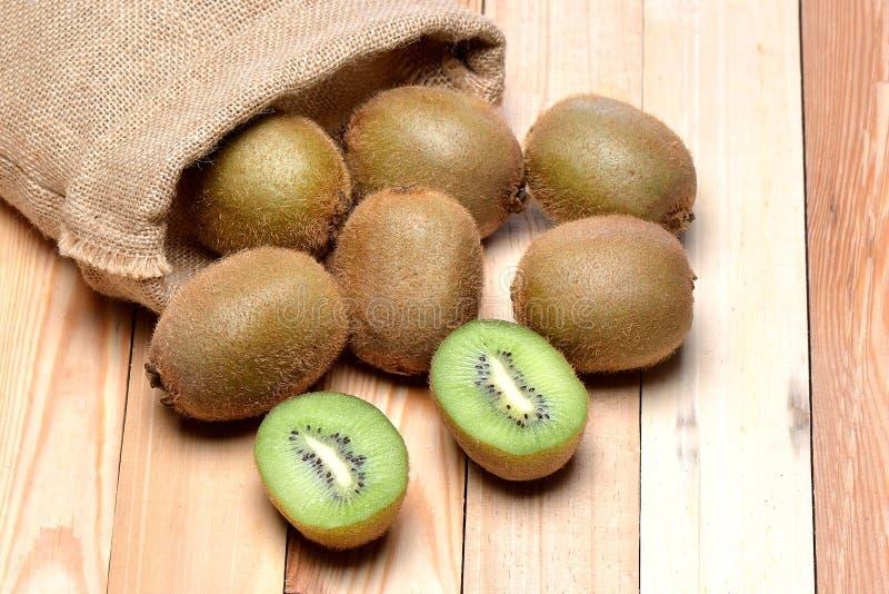 Sluit omhoog kiwifruit stock fotografie