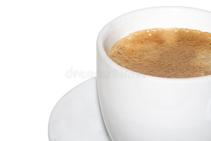 Sluit omhoog koffie stock afbeelding