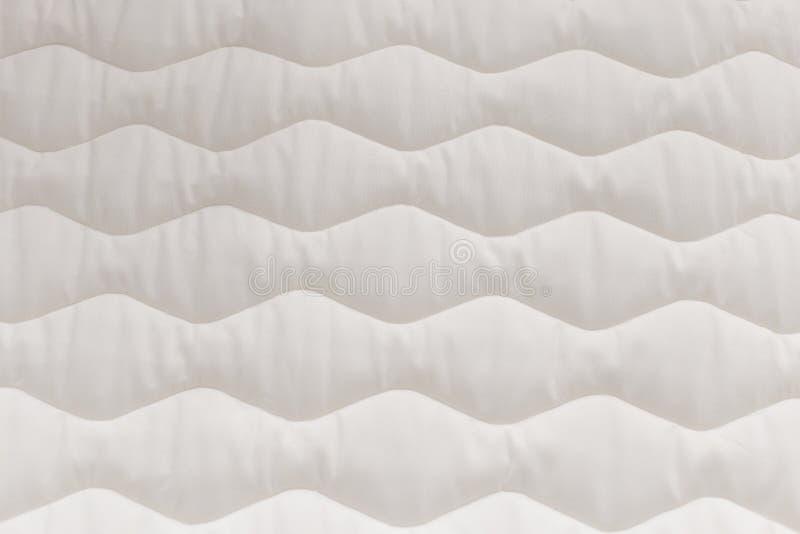 Sluit omhoog matrastextuur Comfortabel slaapconcept Nieuwe moderne matras, voor achtergrond royalty-vrije stock fotografie