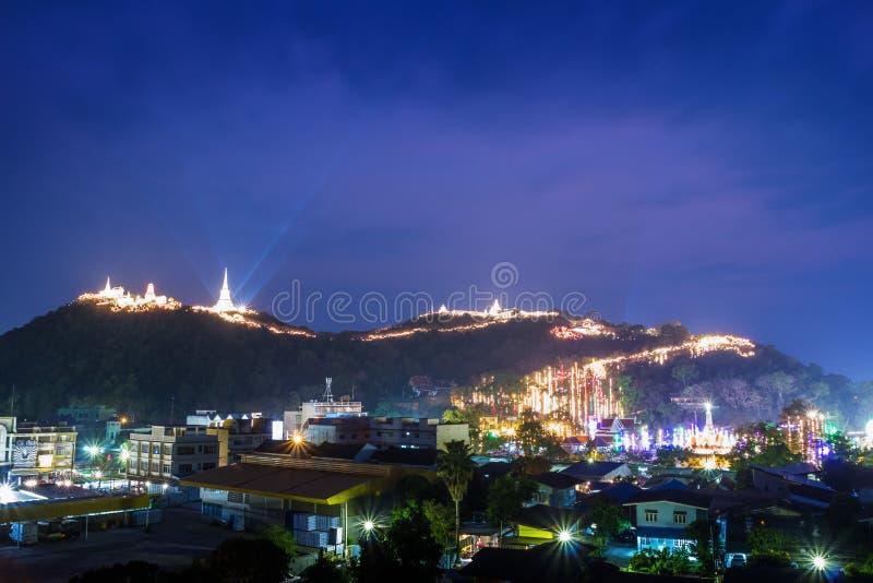 Sluit omhoog, Phra Nakhon Khiri Khao Wang stock foto's