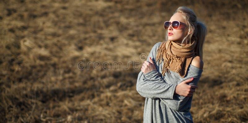 Sluit omhoog schoonheidsportret van jonge vrouw met mooie make-up royalty-vrije stock afbeelding