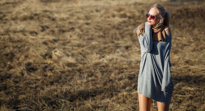 Sluit omhoog schoonheidsportret van jonge vrouw met mooie make-up royalty-vrije stock afbeeldingen