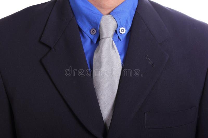 Sluit omhoog stropdas van Zakenman royalty-vrije stock afbeelding