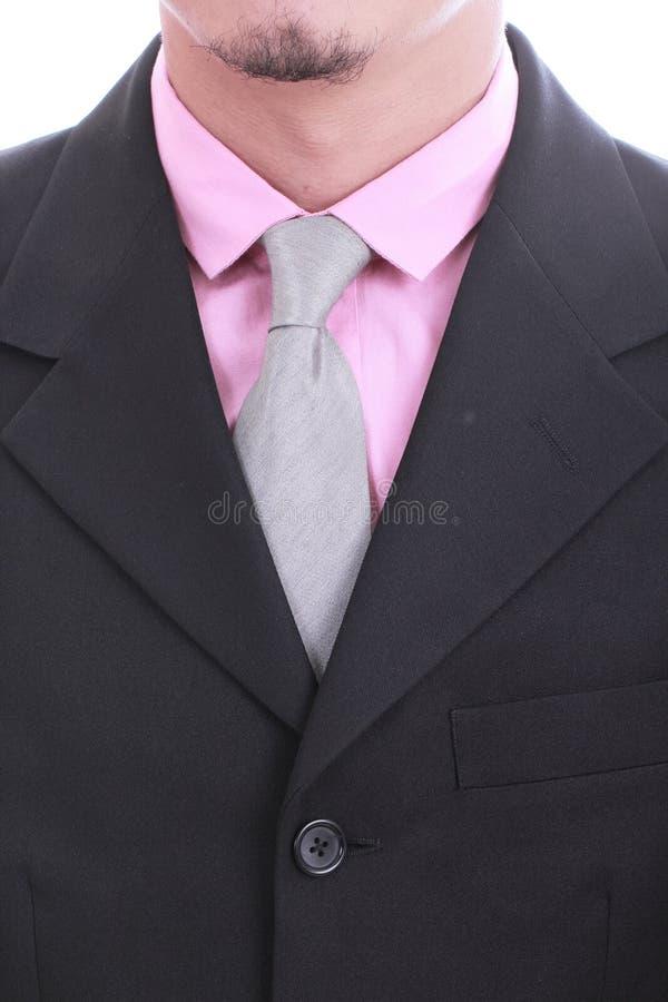 Sluit omhoog stropdas van Zakenman royalty-vrije stock foto