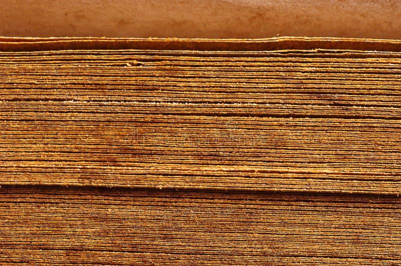 sluit omhoog uitstekende boekstekels royalty-vrije stock foto