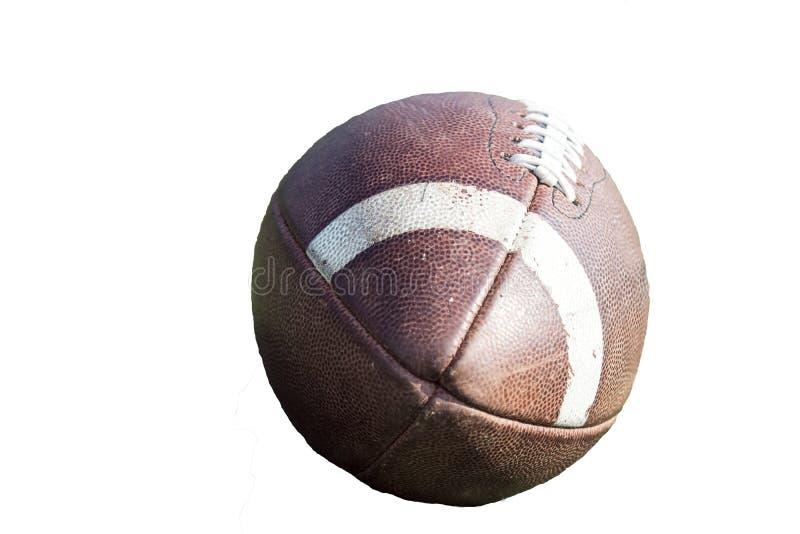 Sluit omhoog van Amerikaanse voetbal royalty-vrije stock foto
