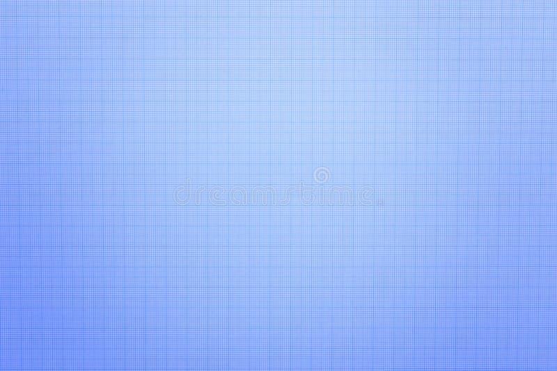 Sluit omhoog van blauwe millimeterpapier of blauwdruk stock fotografie