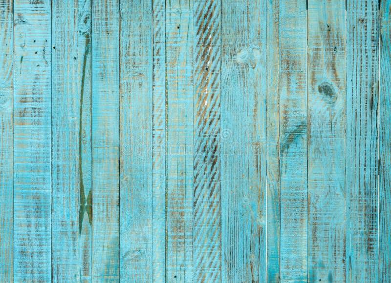 Sluit omhoog van blauwe oude houten muurtextuur stock afbeeldingen