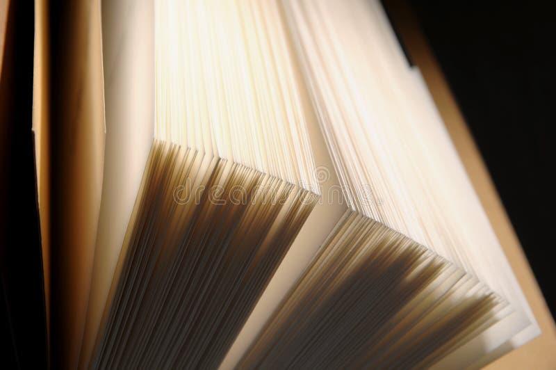 De pagina's van het boek royalty-vrije stock afbeeldingen