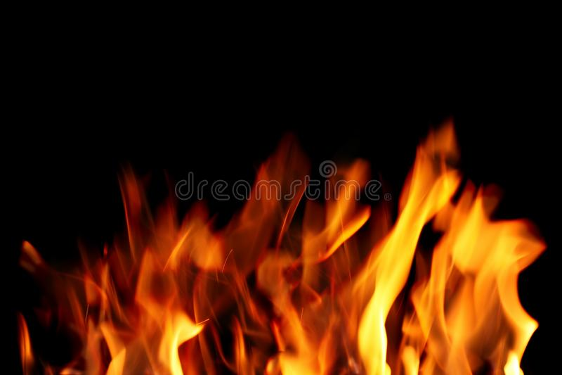 Sluit omhoog van brand stock foto