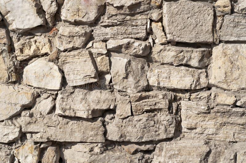 Sluit omhoog van een baksteen-muur, textuurachtergrond stock afbeelding