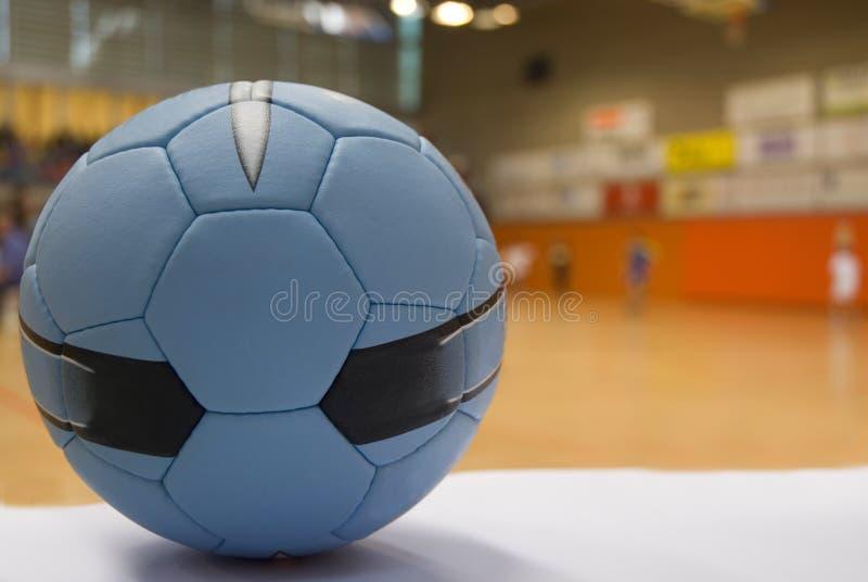 Sluit omhoog van een handbalbal