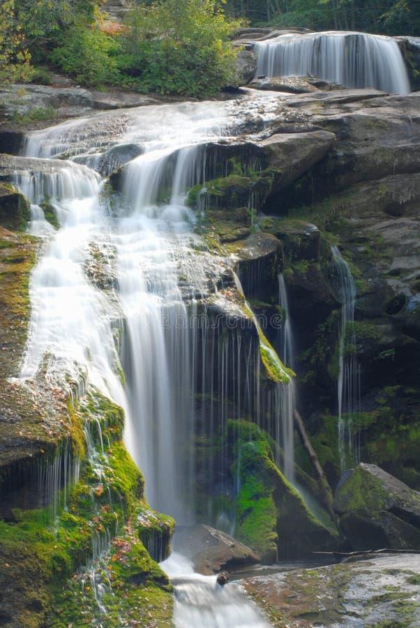 Sluit omhoog van een waterval royalty-vrije stock foto