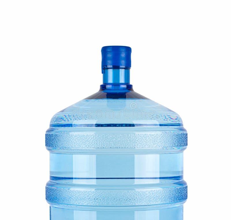 Sluit omhoog van grote fles voor zuiver water stock foto's