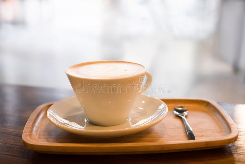 Sluit omhoog van koffie stock foto