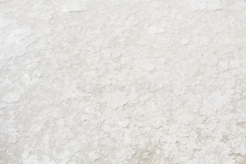 Sluit omhoog van overzees zout in zout landbouwbedrijf, royalty-vrije stock fotografie