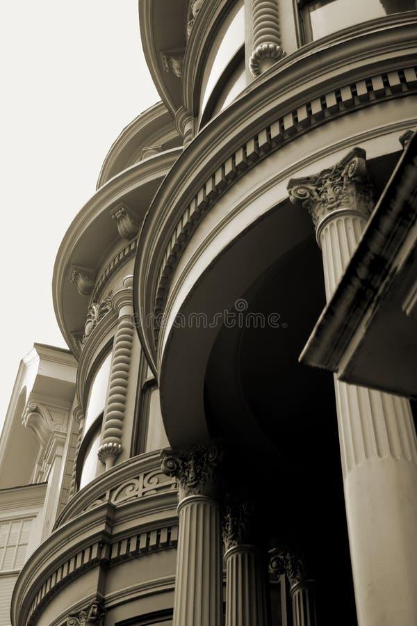 Sluit omhoog van Victoriaans Detail stock afbeelding
