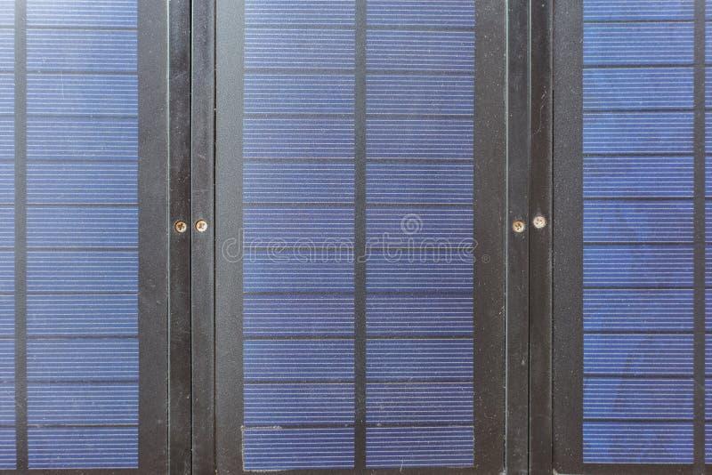Sluit omhoog Zonneceloppervlakte royalty-vrije stock fotografie