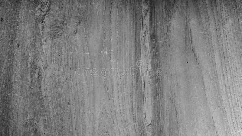 Sluit omhoog zwart-witte houten textuur als achtergrond stock foto's