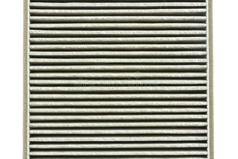 Sluit tot verslechteren van de filter van de autolucht stock fotografie