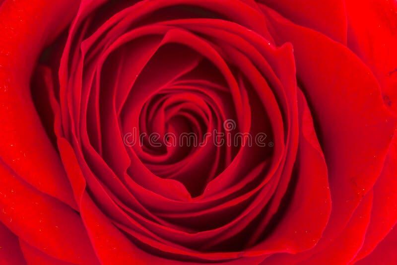 Sluit van binnen van rood steeg royalty-vrije stock afbeeldingen