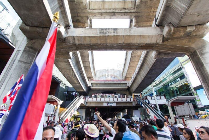 SLUITING BANGKOK - JANUARI 13 2014 stock foto's