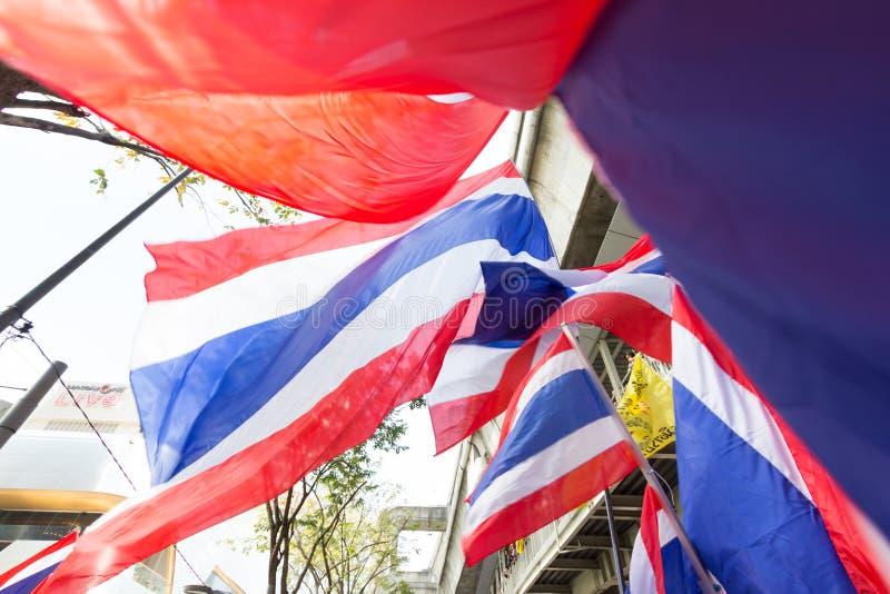 SLUITING BANGKOK - JANUARI 13 2014 stock fotografie
