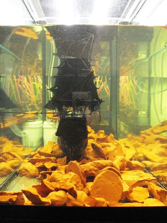 Sluizen. Cambio de polos. foto de archivo libre de regalías