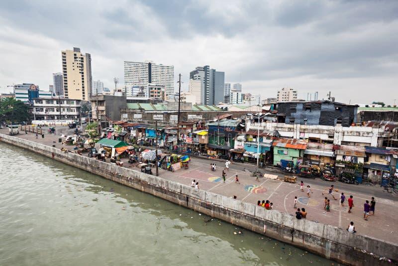 slum arkivfoto
