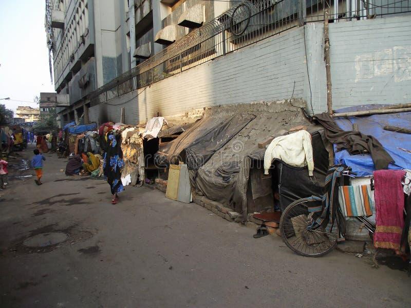 slum fotografie stock