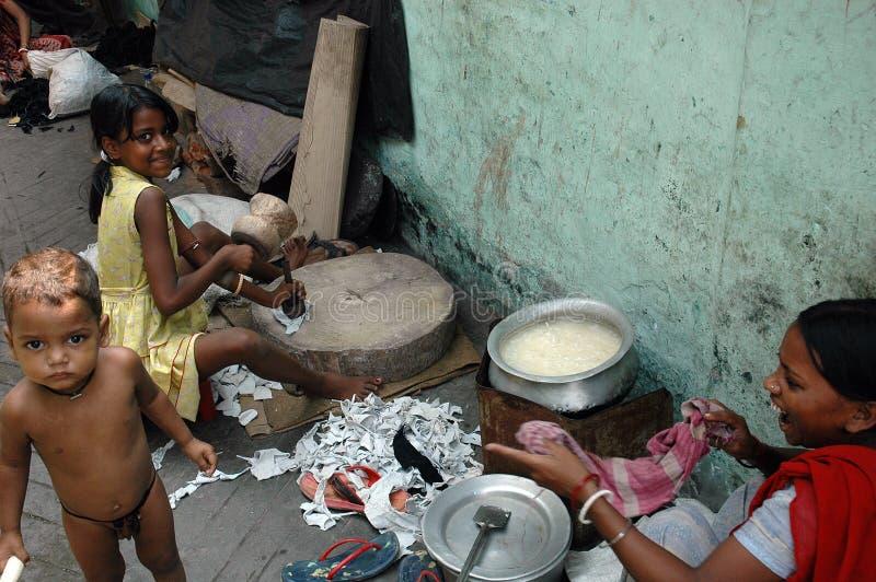 Indian Slum Area editorial image. Image of asian, people
