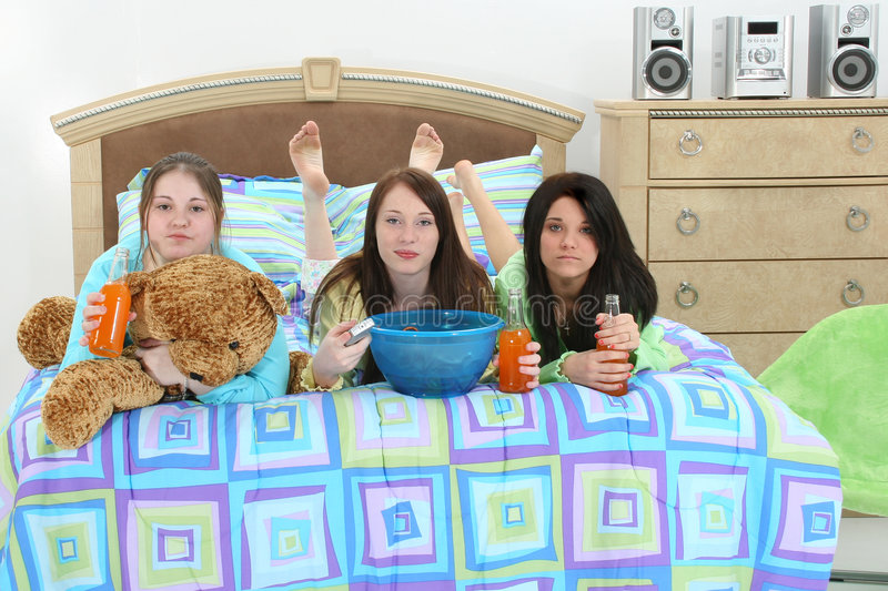 Download Slumber Party Stock Photography - Image: 504142