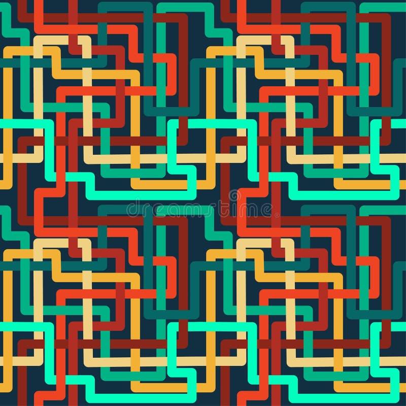 Slumpmässig färgmodell royaltyfri illustrationer