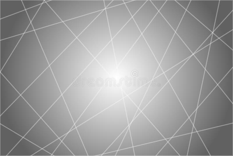 Slumpmässiga kaotiska linjer geometrisk modelltextur för abstrakt begrepp Modernt samtida konst-som illustration stock illustrationer