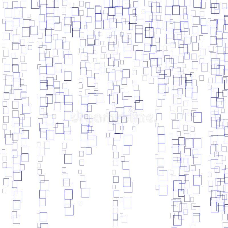 Slumpmässiga rektanglar vektor illustrationer