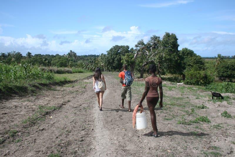 Slumpmässigt i Haiti arkivbild